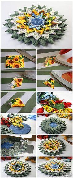 DIY Triangle Folding Coaster DIY Projects