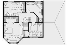 Victorian House Plan 65247 Level Two