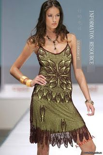 Fada do Crochet: BLUSA MANDALA E VESTIDOS LINDOS....
