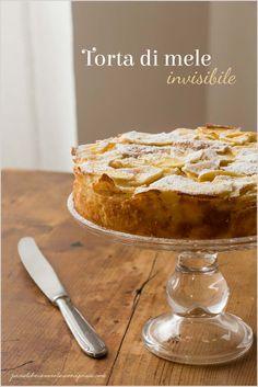 Torta di mele invisibile - Invisible apple pie