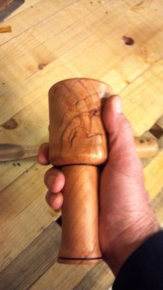 Alaska Wood: Cherry Carving Mallet