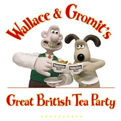 Wallace and Gromit - ridiculously British. hahaah I've loved these since I was a kid :)