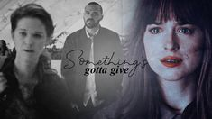 ● sad multicouples | something's gotta give [YPIV] 50 Shades Trilogy, Something's Gotta Give, Christian Grey, I Saw, Naive, Literature, Interview, Youtube, People