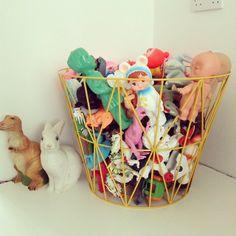 Emma Nutmeg: playroom, toy basket