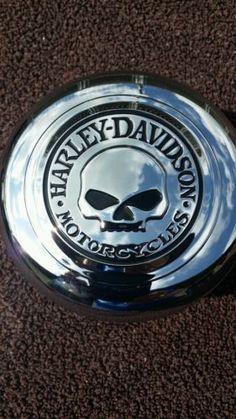"""#harley Custom Harley-Davidson Willie G. Skull Horn Cover! """"NEW""""""""""""' please retweet"""