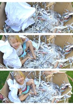 Oh, the possibilities....kid-sized birds-nest play....