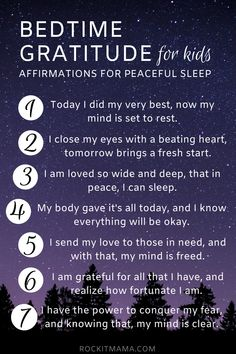 Looking to ease bedtime struggles? Check out these bedtime affirmations for kids to soothe sleep anxiety and encourage healthy sleeping habits! Positive Affirmations For Kids, Daily Affirmations, Healing Affirmations, Prayers For Children, Bedtime Prayers For Kids, Childrens Bedtime Prayer, Encouragement, Bedtime Routine, Inspiration Quotes