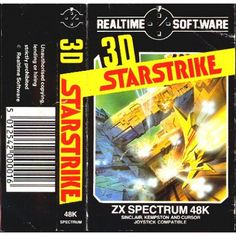3D Starstrike for ZX Spectrum from Realtime Software