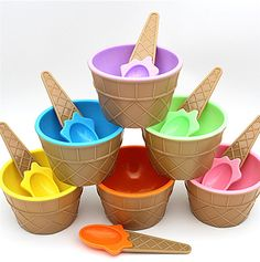 1PC kids ice cream bowls ice cream cup Couples bowl gifts Dessert container holder with spoon Best children gift supply on sale #>=#>=#>=#>=#> Click on the pin to check out discount price, color, size, shipping, etc. Save and like it!