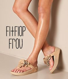 """I think I need """"nude"""" FITFLOP Frou Sandals  (already have in black) was worth every bit of that $89.99 dollars four years ago"""