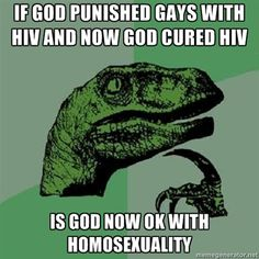 God didn't cure HIV.