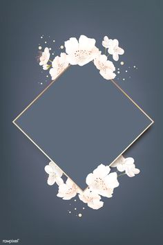Rhombus cherry blossom frame vector premium image by rawpixel wan Background Pic Box Bl Rhombus cherry blossom frame vector premium image by rawpixel wan Background Pic Box Bl Celine Kamp nbsp hellip backgrounds plants Framed Wallpaper, Flower Background Wallpaper, Flower Backgrounds, Background Patterns, Wallpaper Backgrounds, Iphone Wallpaper, Cherry Blossom Wallpaper Iphone, Wallpaper Plants, Screen Wallpaper