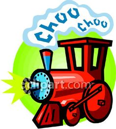 Clipart.com Closeup | Royalty-Free Image of choo-choo,toy,train