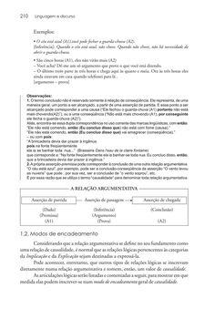 Página 210  Pressione a tecla A para ler o texto da página