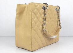 20a708b0ecb8 Chanel Handbags Beige Caviar Leather with Silver Hardware 50995 Sale Online
