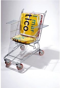 Mmmm..interesting. During my college days I remember taking shopping carts from Kohl's Food Store and pushing people up the hill (or trying to!) after leaving the Hook and Shell. But ours were still carts..we had a few spills...ha