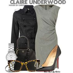 Claire Underwood Style Inspiration