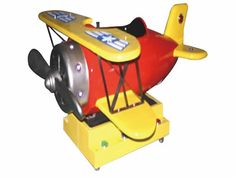 Children airplane coin operated ride
