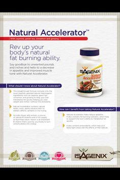 Rev Up Your Body's Natural Fat Burning Ability! www.wellnessjunkie.isagenix.com