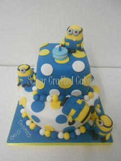 Minion - Sugar Crafted Cakes based in Ripon, North Yorkshire covering Harrogate, Knaresborough, York, Boroughbridge, Northallerton, Thirsk & surrounding areas