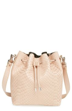 c7fb59a388 Proenza Schouler  Medium  Genuine Python Bucket Bag Metallic Leather