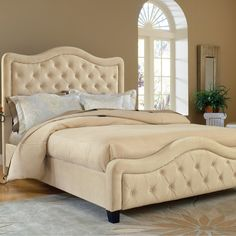Upholstered Bed!