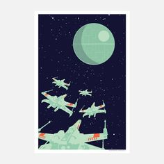 Space Fleet 12x18 now featured on Fab.