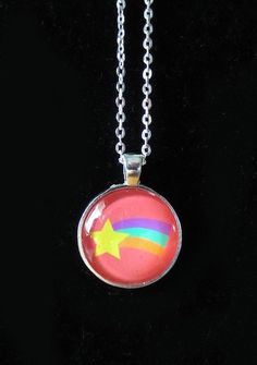 Gravity Falls Mabel Necklace by SteveHoltisCool on Etsy, $8.00