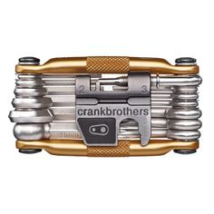 Crankbrothers: 19 features. includes light, durable aluminum case