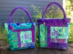 Quilt As You Go, How To Make Shorts, Pattern Paper, Pattern Making, Bag Making, Jelly, Diaper Bag, Tote Bag, Purses