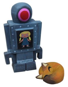 MORE Robot & Fox from Michelle Valigura x Amanda Visell?