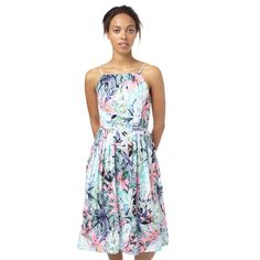 Buy the Kennocha Tropical Flower Midi Dress at Oliver Bonas. Enjoy free worldwide standard delivery for orders over £50.