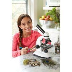 Este microscopio despertará a la pequeña nerd dentro de ti.