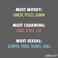 zodiac astrology Zodiac Signs zodiac traits cancer sc