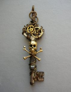 Pirate Key. Aye, 'tis a key to me pirate heart. Be ye brave enough to sail with me?  #pirate   Sadly, I was not that brave and every day I cry and regret my cowardness