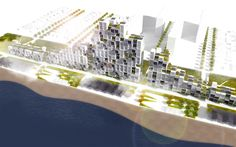 Designed by Michael Sorkin Studio in Rockaway,United States Taking its name from the elevation above which the city is safe from floods, The '28+' proposal by Michael Sorkin Stu...