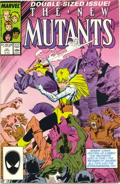 """The New Mutants """"Volume 1, Number 50"""" (April, 1985)"""