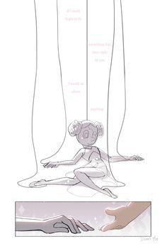 ummm help her Steven Universe Quotes, Steven Universe Theories, Perla Steven Universe, Steven Universe Comic, Universe Art, Steven Univese, Pearl Steven, Lapidot, Arte Horror