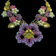 Beadwork by Marsha Wiest-Hines ~ so many great artists on Pinterest...