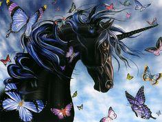 Black unicorn                                                                                                                                                                                 Mehr
