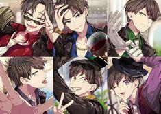 @oooooosomatsusan - Instagram:「#osomatsusan #osomatsu #karamatsu #choromatsu #ichimatsu #jyushimatsu #todomatsu #おそまつさん #おそ松さん #おそ松 #カラ松 #チョロ松 #一松 #十四松 #トド松 #오소마츠상 #오소마츠…」 Cute Anime Boy, Anime Art Girl, Anime Krieger, Anime Siblings, Anime Boy Zeichnung, Osomatsu San Doujinshi, Anime Friendship, Dark Anime Guys, Gekkan Shoujo Nozaki Kun