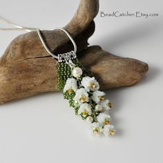 Hey, I found this really awesome Etsy listing at https://www.etsy.com/ca/listing/130013602/lily-of-the-valley-pendant