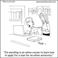 Education Cartoons by Marty Bucella