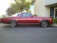 This Is A 74 Chevy Malibu 1974 But My Second Car Was A