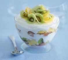 Trifle di panna cotta ricetta
