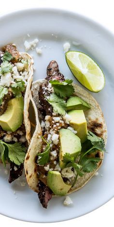 Tecate skirt steak tacos. As if you needed an excuse to drink more beer…