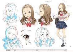 HILL CLIMB GIRL - 日本アニメ(ーター)見本市 / みき 表情集 / #米山舞