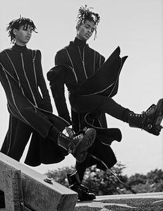 Willow e Jaden Smith em looks fantásticos clicados por Steven Klein