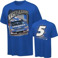 Kasey Kahne #5 Farmers Insurance Youth Brodie T-Shirt by Checkered Flag. $19.99. Now even younger fans can get excited about race day with this Kasey Kahne #5 Farmers Insurance Youth Brodie T-Shirt. This NASCAR t-shirt for kids features a screen print graphic on both the front and back of a soft, 100% cotton shirt.
