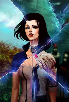 Elizabeth's alternate selves - Bioshock Infinite and pretty much every place and time in every universe ever